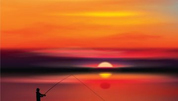 sunsetfishing