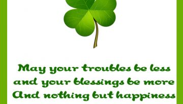 threeleafcloverIrishBlessing